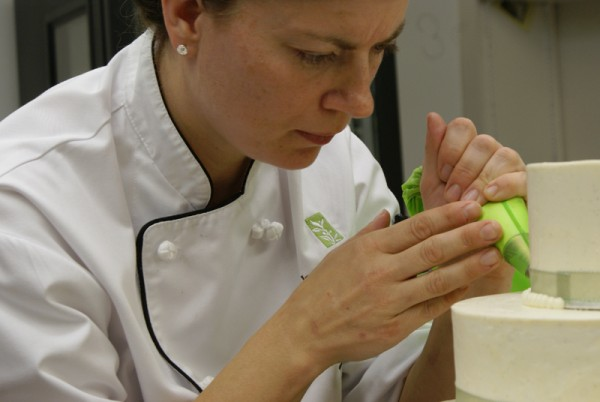 April Iverson joined the staff at AURA, the Inn's on-site waterfront restaurant and patio, as pastry chef.