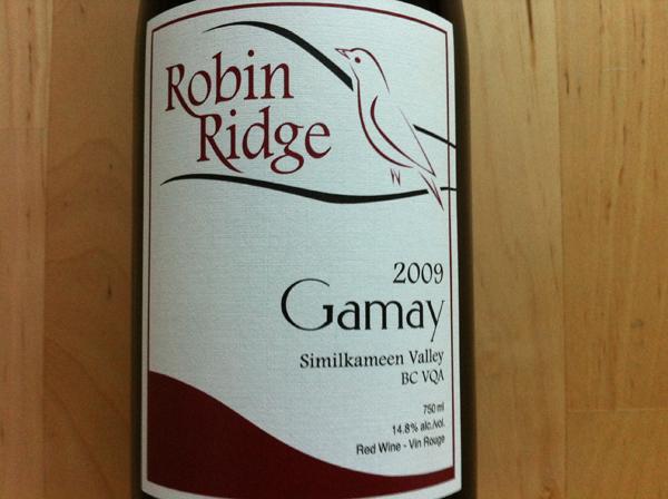 robin ridge gamay