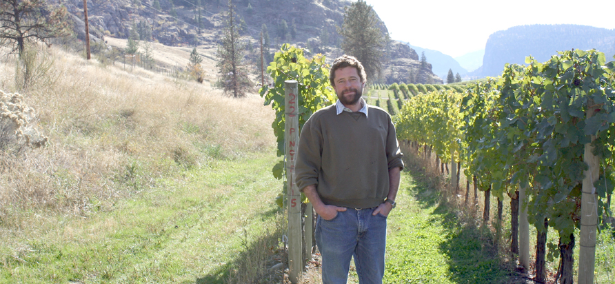 Matthew Mavety Winemaker Blue Mountain Winery. Photo by Claire Sear