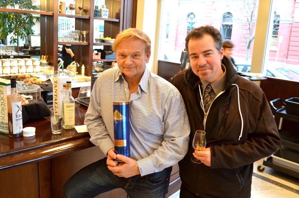 Marcus Von Albrecht  and David Mincey at The Hotel Rialto. Photo by Ellie Shortt