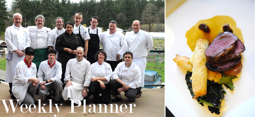 From the Cowichan Chefs Table 2011 fundraiser for the MS Society. Photos courtesy of the MS Society
