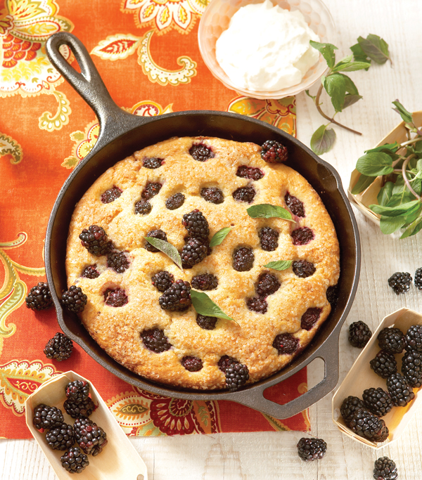 Blackberry Skillet Cake_Pic