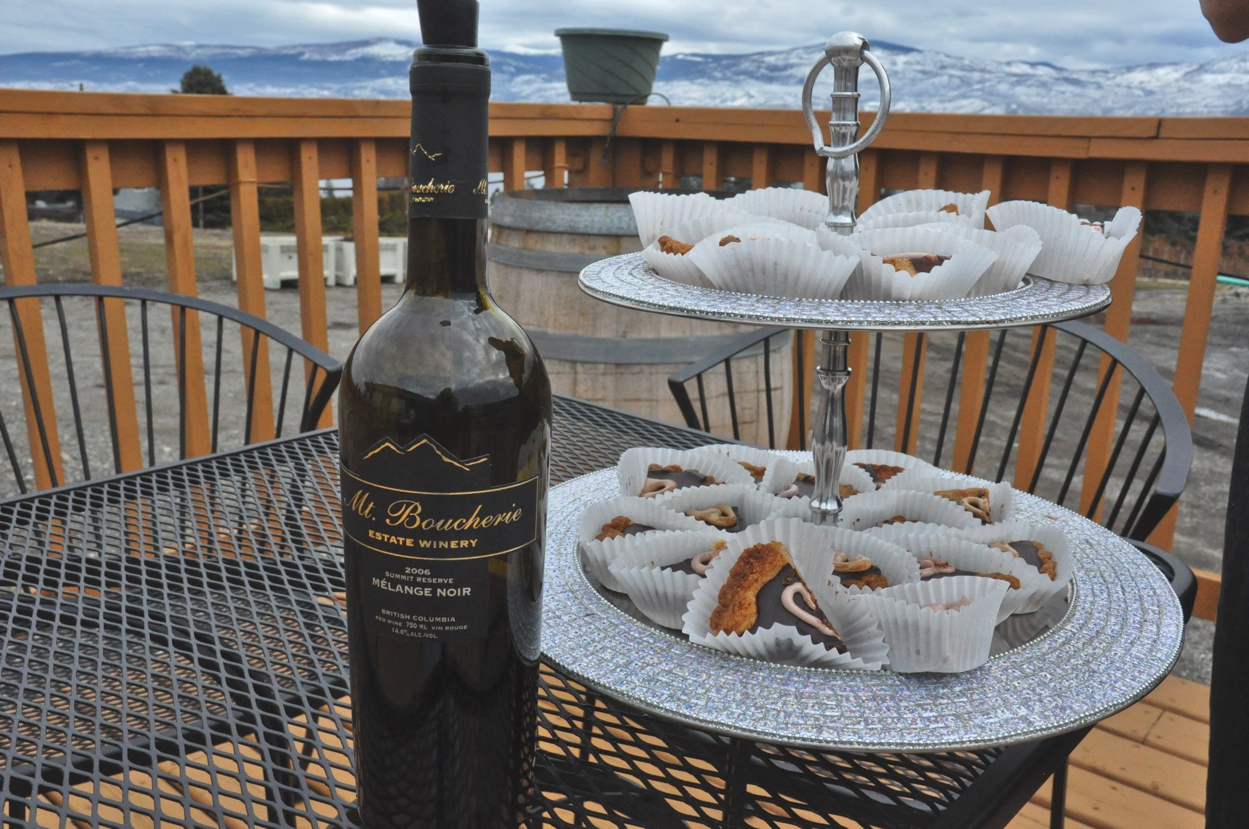 Summit Reserve Melange Noir &  Bliss Bakery's Chocolate Cinnamon Heart Tart