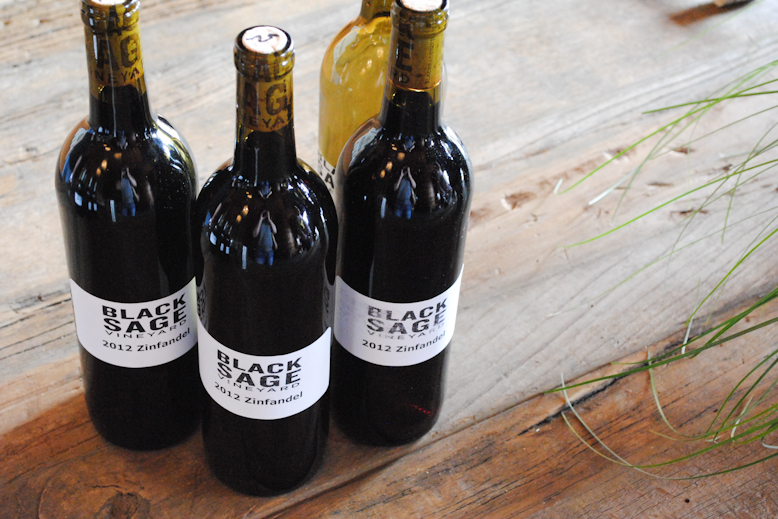 A peek at the 2012 Zinfandel to be released in June-2