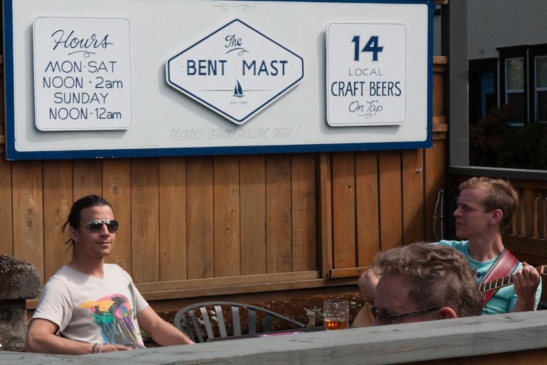 Bent Mast