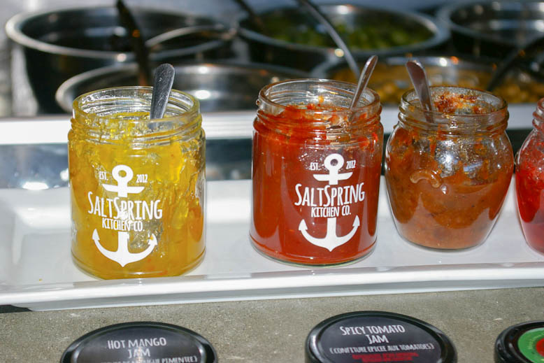 Hot Mango and Spicy Tomato Jam samples