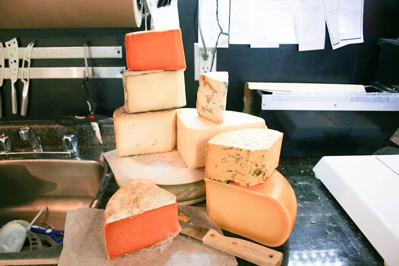 cheese - charelli cheese stack