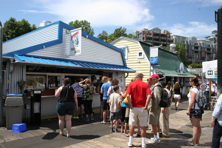 fish and chips - barbs exterior lineup