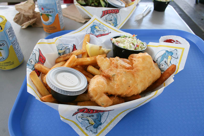 fish and chips barbs