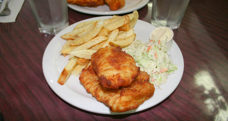 fish and chips - haultain