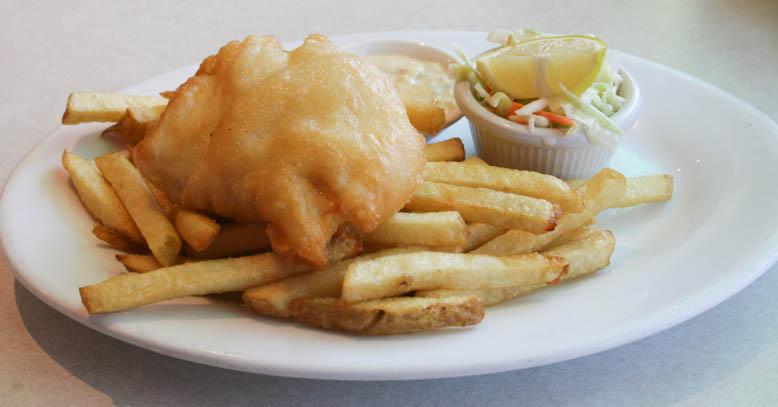fish and chips james bay