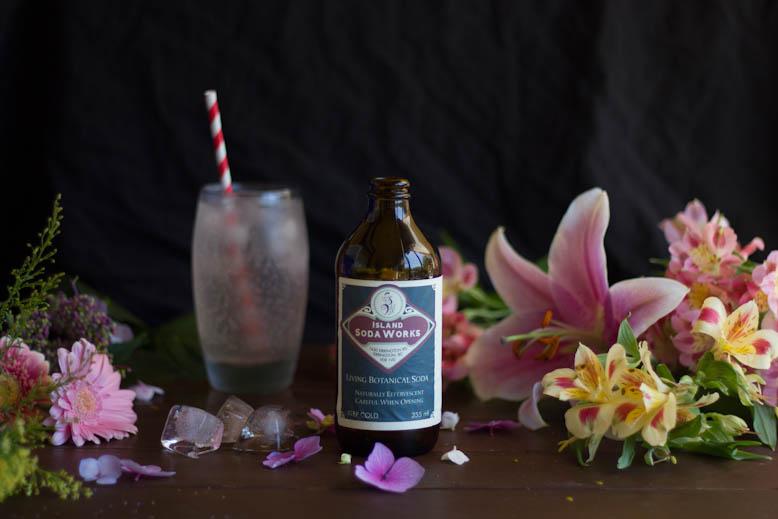 island soda works and flowers
