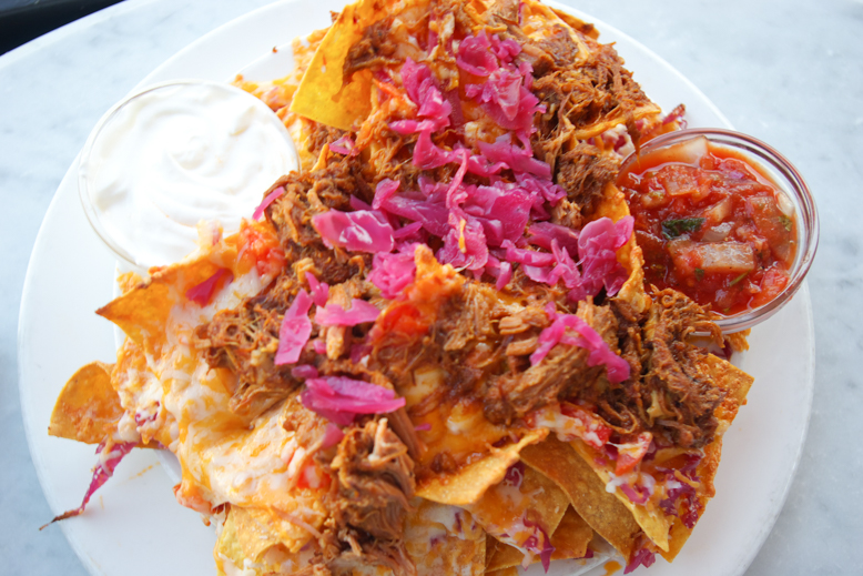 Pulled Pork Nachos - Spinnakers