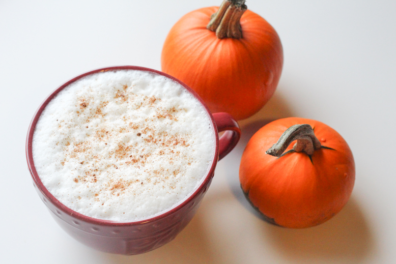 maple pumpkin latte