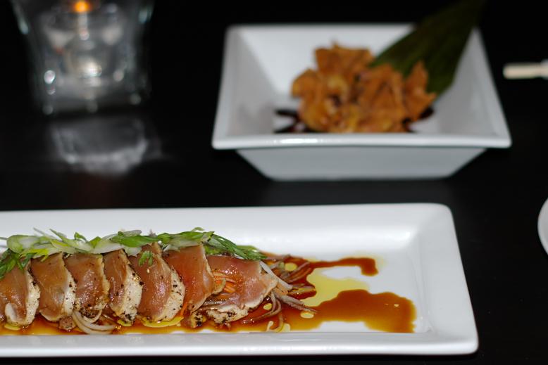 Peppered Tuna Tataki (Mai Mai's)