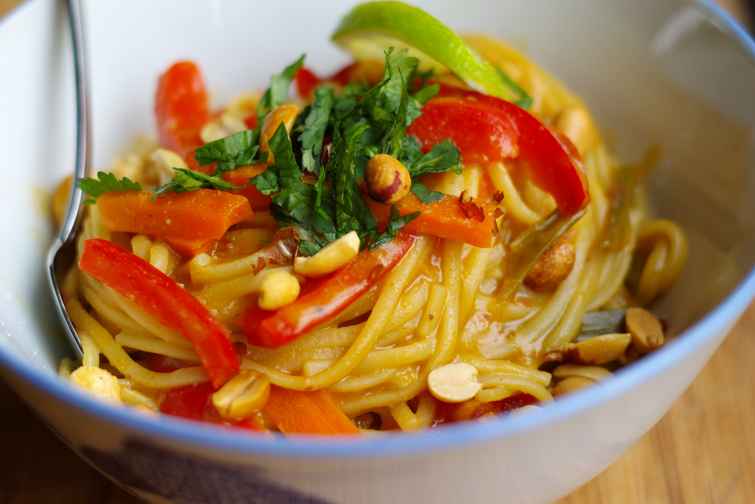 Thai Peanut One Pot Pasta