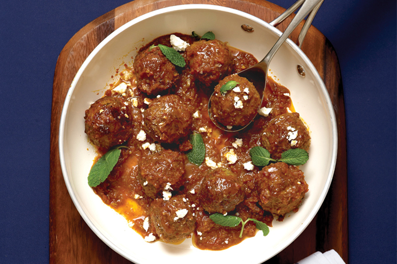 Masala Lamb Meatball Pic
