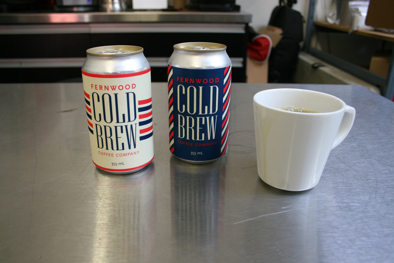 Fernwood's cold brew cans