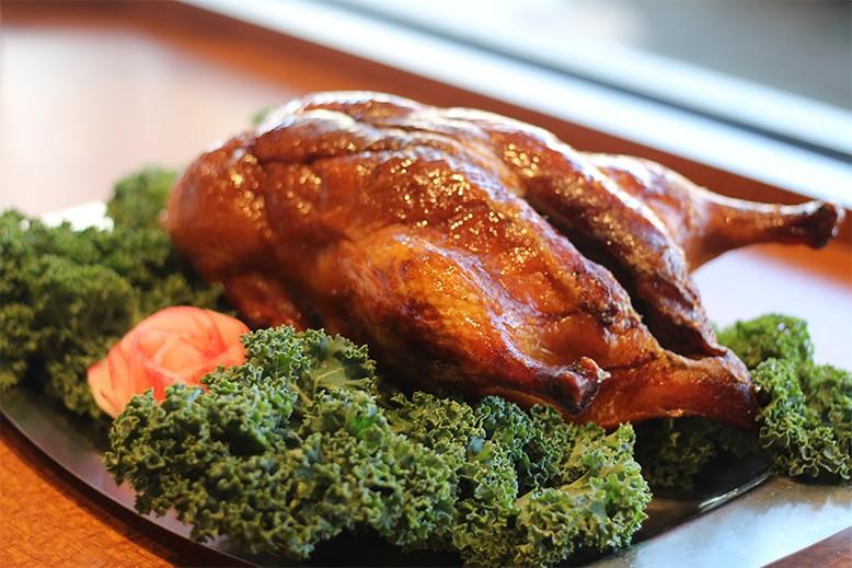 Whole Beijing roast duck