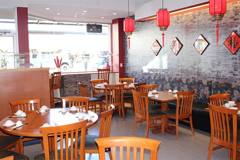 The interior of Beijing Bistro