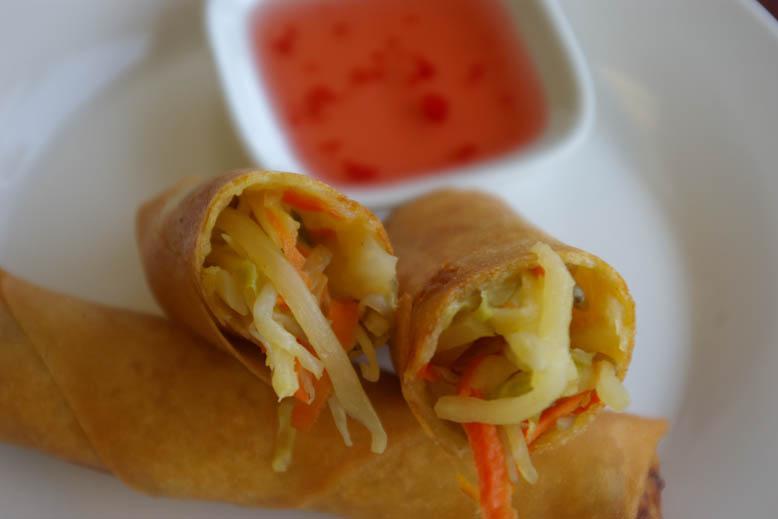 Shanghai Noodle Spring Rolls