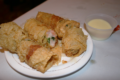 jade fountain shrimp egg roll