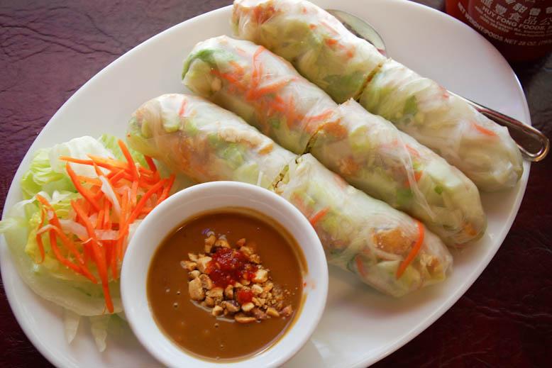 Kims Vietnamese Tofu Salad Roll
