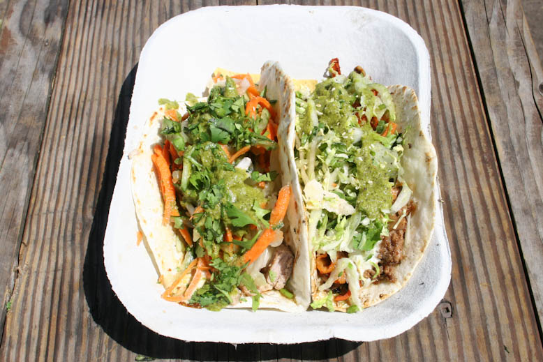 taco justice - twin tacos