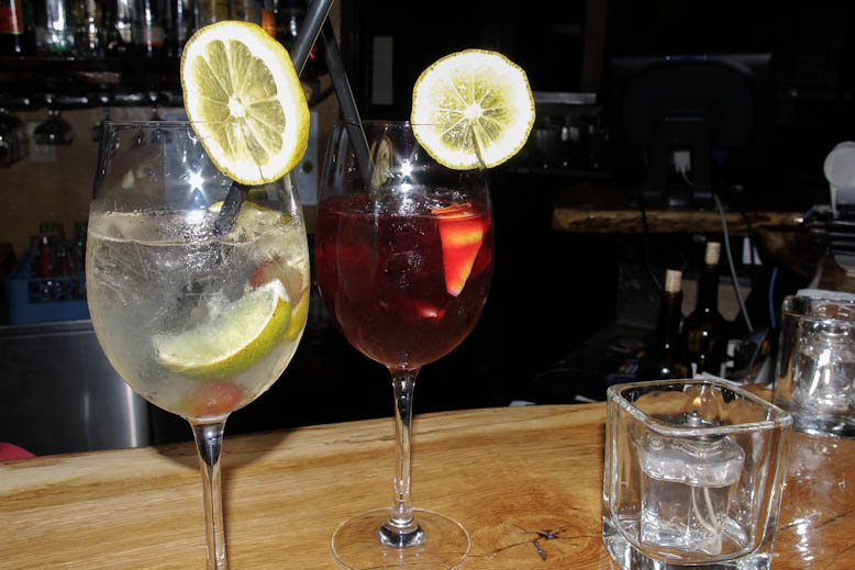 The Mint Red & White Sangria