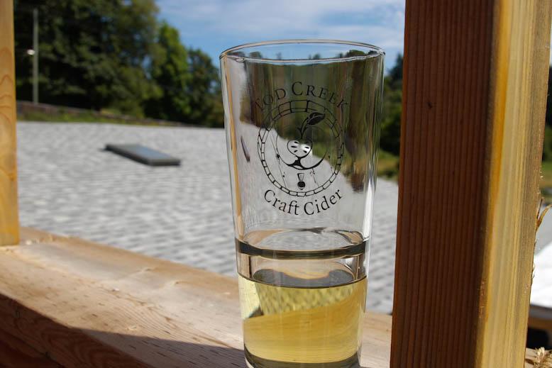Todd Creek Cider Glass