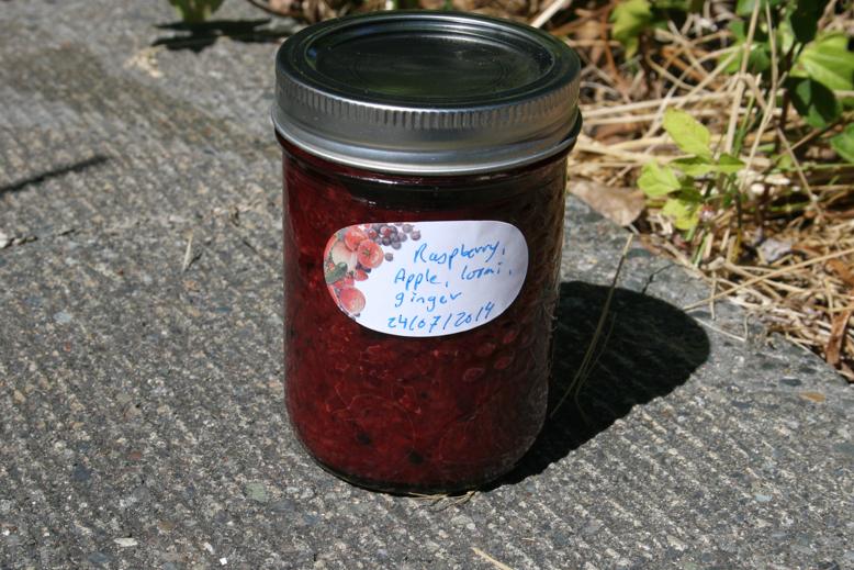 jam and jelly - raspberry etc
