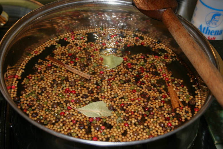 pickles - brine mix