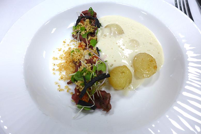 Camilles Restaurant: Venison carpaccio