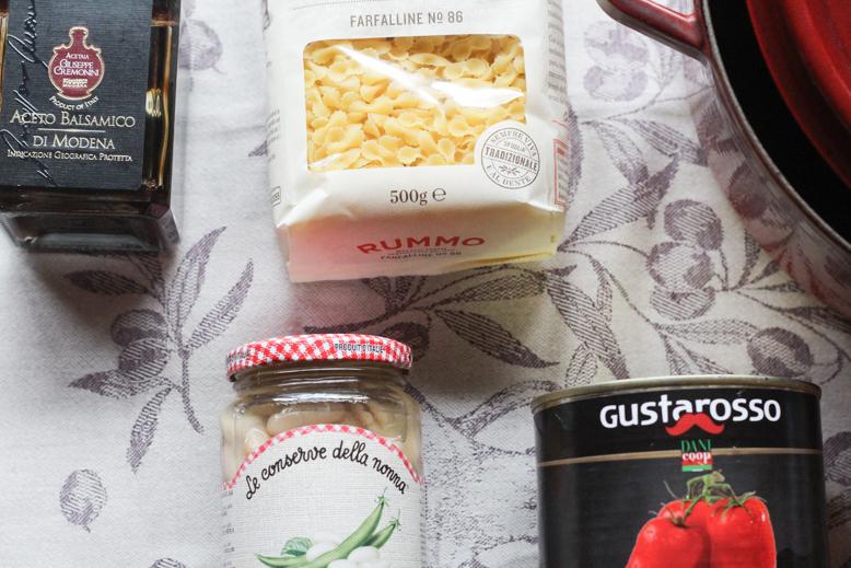 Tuscan Kitchen ingredients