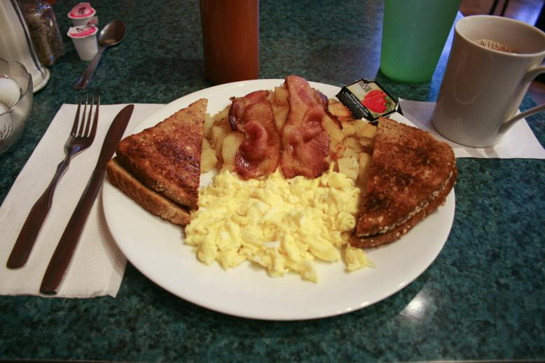 breakfast - sour pickle