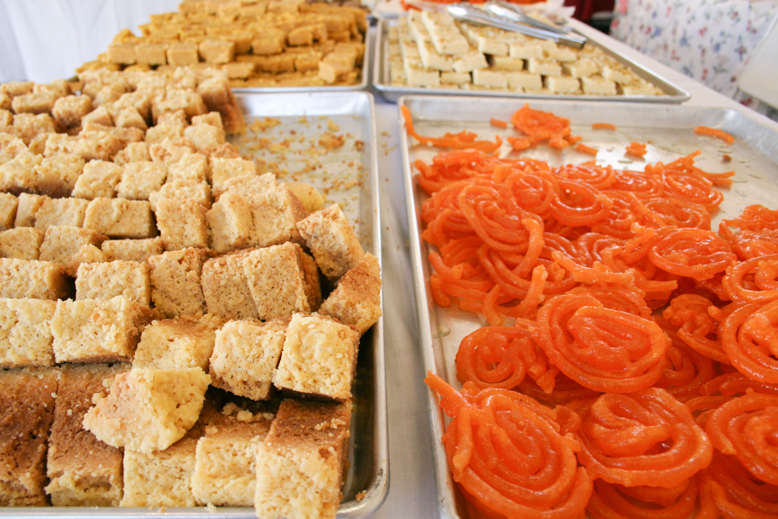 deep catering - jalebi and burfi