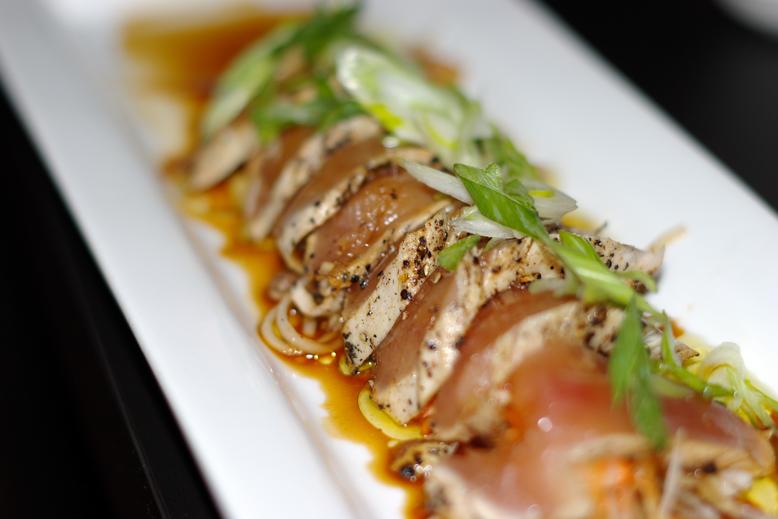 Peppered Tuna Tataki