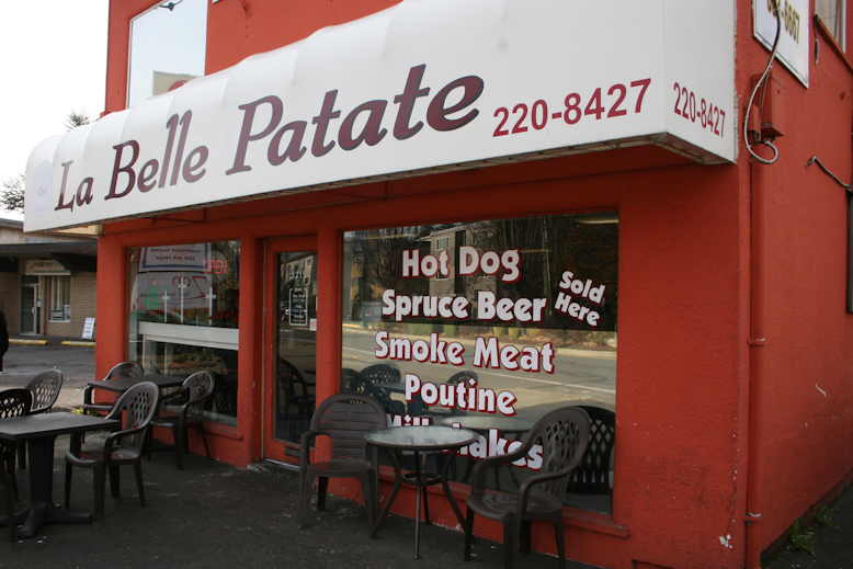 belle patate - exterior