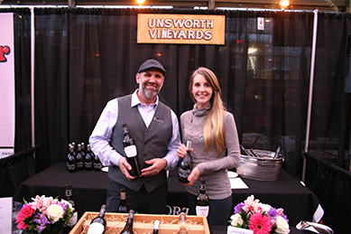 Lovely Vancouver Island wines from Unsworth