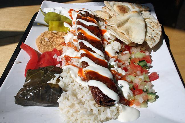 Efes kebab dinner