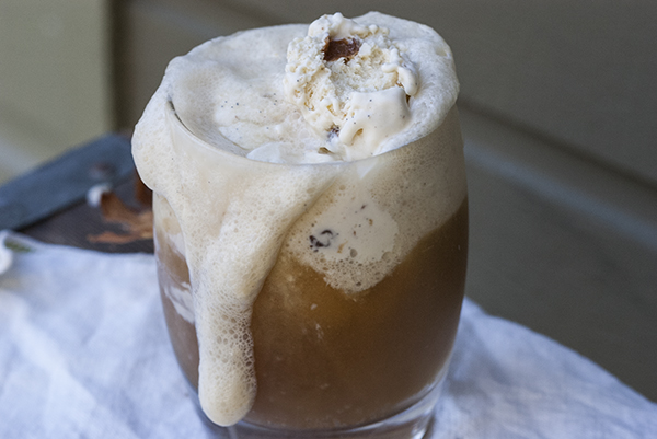 Rumrunner Cold Comfort Float